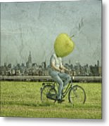Big Apple Metal Print