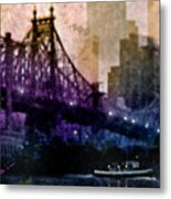 Big Apple Shadows Metal Print