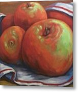 Big Apples Metal Print