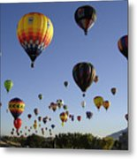 Big Balloons Metal Print