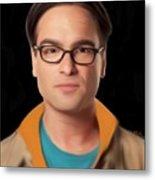 Big Bang Theory Leonard Metal Print