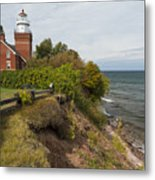 Big Bay Point Lighthouse 2 Metal Print