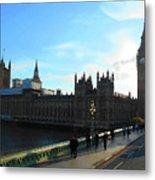 Big Ben And Parliament London City Metal Print