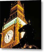 Big Ben In London Metal Print