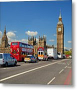 Big Ben London Metal Print by Donald Davis