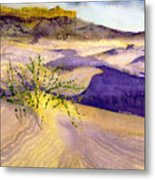 Big Bend Landscape II Metal Print