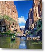 Big Bend Texas National Park Mariscal Canyon Metal Print