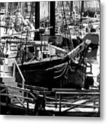 Big Boats Metal Print