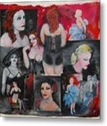 Big City Burlesque 1 Metal Print
