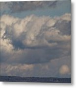 Big Clouds  Metal Print