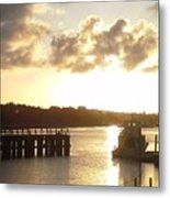 Big Country Light  Metal Print