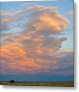 Big Country Sunset Sky Metal Print