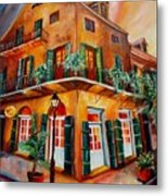 Big Easy Sunset Metal Print