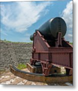 Big Gun Tracks Metal Print