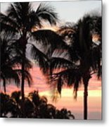 Big Island Sunset 1 Metal Print