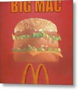 Big Mac Poster Metal Print