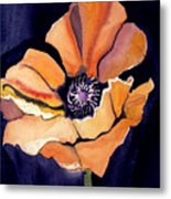 Big Orange Flower Metal Print