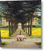 Big Pig - Pistoia -tuscany Metal Print