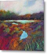 Big Pond In Fall Mc Cormick Woods Metal Print