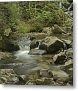 Big Pup Falls 2 Metal Print