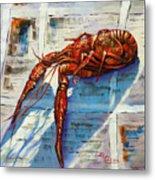 Big Red Metal Print by Dianne Parks