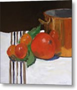 Big Red Tomato Metal Print