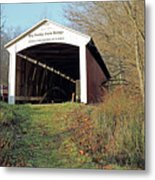 Big Rocky Fork Bridge Indiana Metal Print