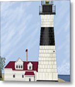 Big Sable Michigan Metal Print