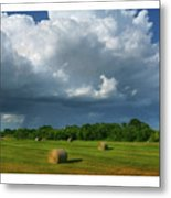 Big Sky-brief Shower Metal Print