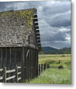 Big Sky Cabin Metal Print