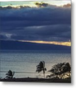 Over Molokai Metal Print
