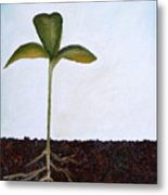 Big Sprout Metal Print