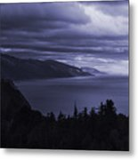 Big Sur Storm Metal Print by Matt  Trimble