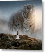Big Tiger Metal Print