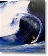Big Tunnel Dharma Metal Print