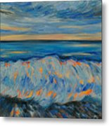 Big Wave After Storm Metal Print