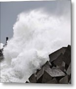 Big Waves II Metal Print