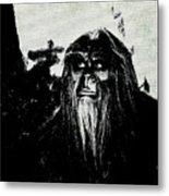 Bigfoot Metal Print