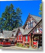 Bigfork Inn Metal Print