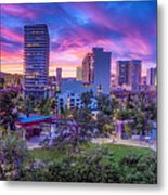 Biggest Little Sunset Metal Print