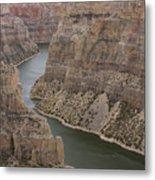 Bighorn Canyon Metal Print