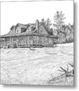 Bigness House Metal Print