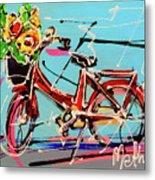 bike of Amsterdam series 2018 no.2 Metal Print