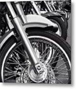 bike Riders  Metal Print