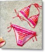Bikini - Id 16218-130715-5870 Metal Print