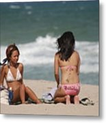 Billabong Girls Metal Print