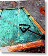 Billiards Art-pool Table Metal Print
