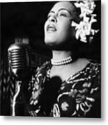 Billie Holiday Metal Print by Everett