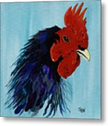 Billy Boy The Rooster Metal Print