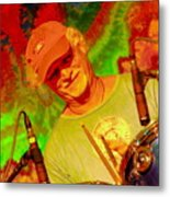 Billy Kreutzmann Metal Print